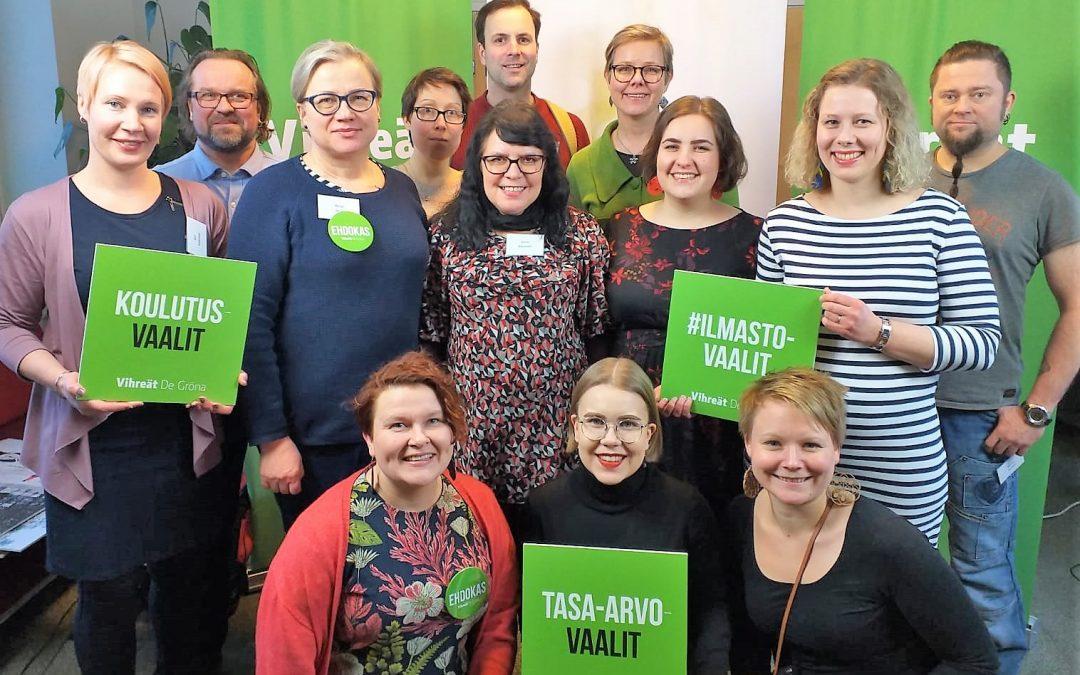 kuopio vihreät ehdokkaat